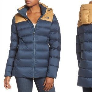 f4cd4658c The north face nuptse ridge hooded down jacket